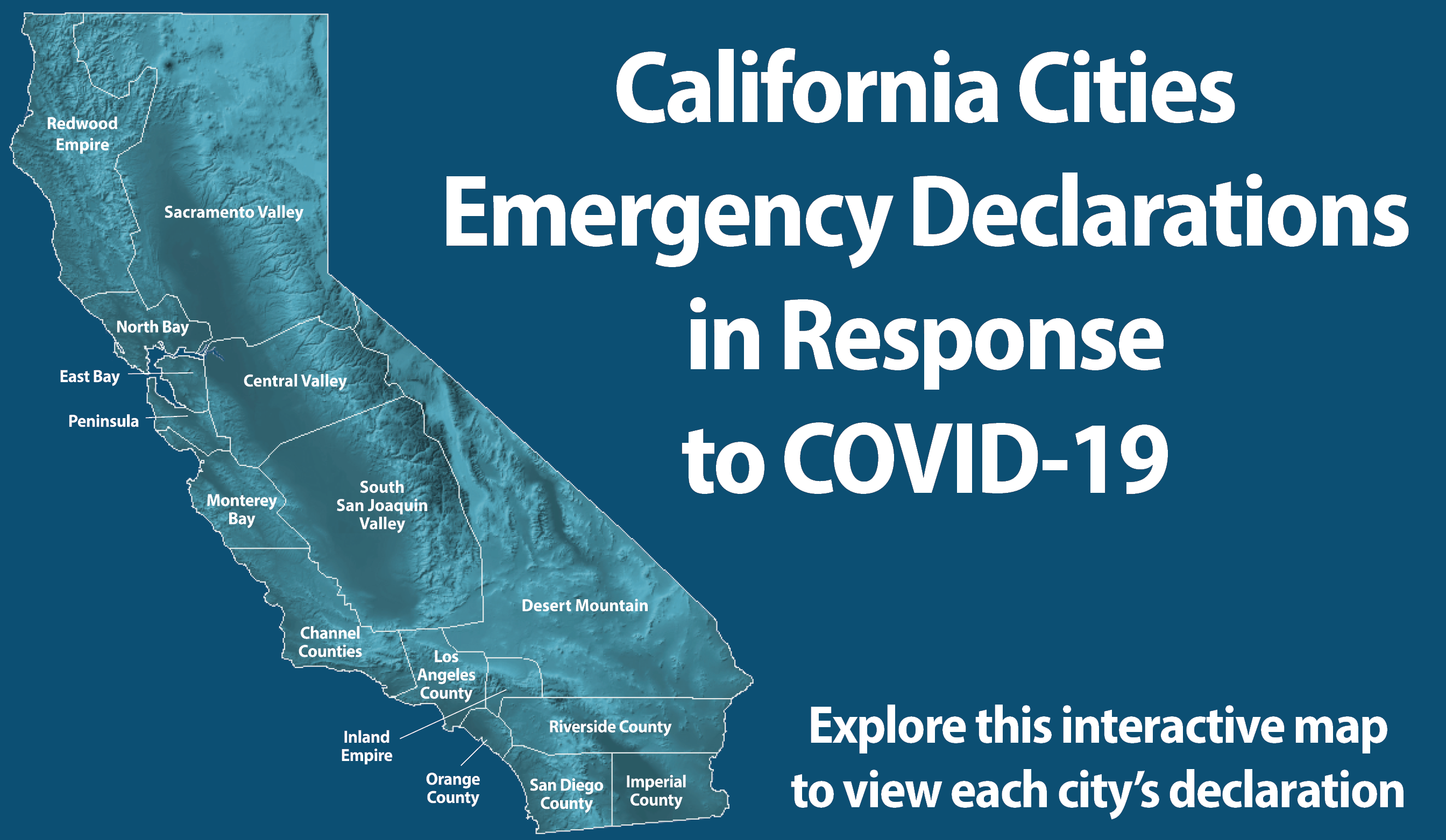 California Cities Emergency Declarations in response to COVID-19